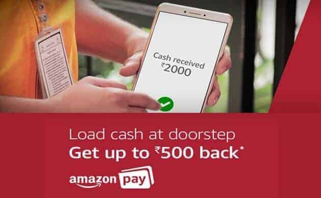 Amazon pay cash load offer