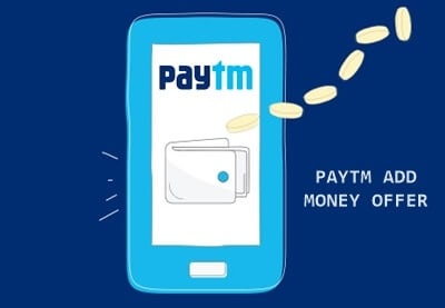 Paytm add money offer