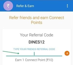 connectapp referral code