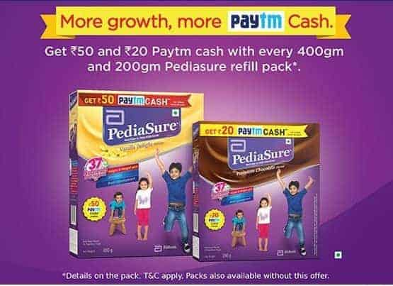 paytm pediasure offer