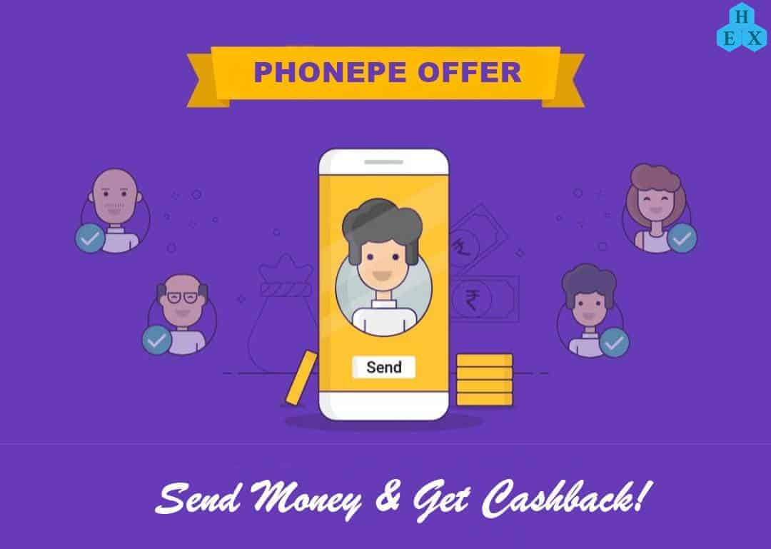 phonepe send money offer