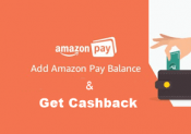 Amazon add money offer – 300 Rs Cashback on Adding 3000 Rs (All Users)
