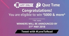 Amazon World Book Day Quiz Answers | Win 5000 Rs & Kindle