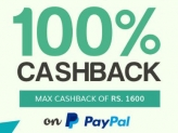 Pay via Paypal & get 100% Cashback on Sunglasses (Max 1600)