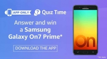 Samsung Galaxy On7 Prime Quiz Answers – 25 Jan – Win On7 Prime Mobile