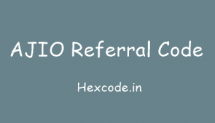 Ajio Referral Code 2018 for new user, Refer and earn offer