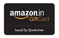 Amazon Gift Card offer- 5% Cashback on Email Gift Cards (Today only)