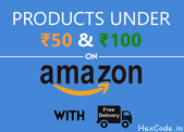 100+ Best Amazon Products under 50 and 100 Rs