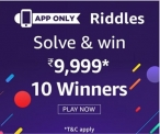 Amazon Riddles Quiz Answers – Win 9999 Rs – 10 Winners – 13 April