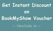 Bookmyshow – 100 Rs Voucher @50 Rs & 250 Rs Voucher @150 Rs only