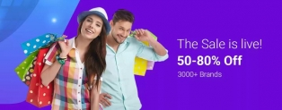 Flipkart End of Reason Sale – 50 to 80% Discount + Extra 20% Cashback