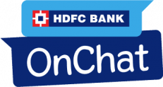 HDFC Onchat – 50 Rs Cashback on Recharge of 100 Rs (5 times)