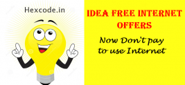 Idea Free Internet Offer – Get 1GB 4G data Everyday for 30 days