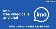 Imo App – Get 20 Rs Free Recharge per refer