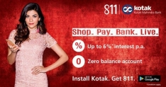 Kotak 811 offer: 50% Cashback Upto 250 Rs on Flipkart