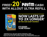 (Expired) Paytm Allout Offer- Get 20 Rs Free Paytm Cash