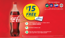 Paytm Coca Cola offer – Get 15 Rs Free Paytm Cash